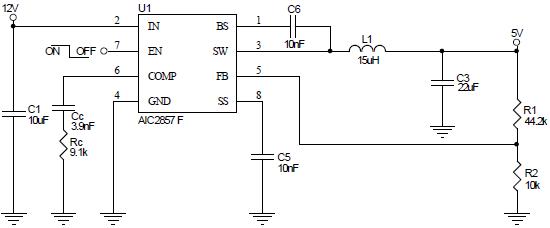 电路 电路图 电子 原理图 550_228